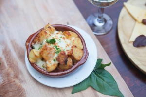 Cheese bravas